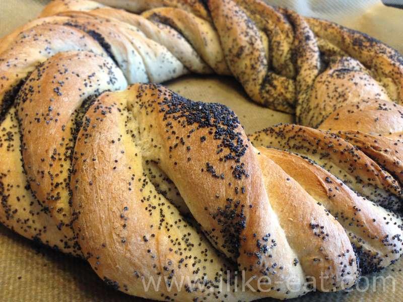 хлеб плетенка калорийность