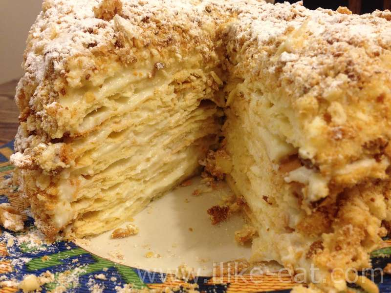 Торт степка-растрепка рецепт